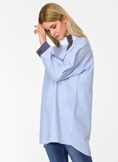 Ng Style Bluz Mavi